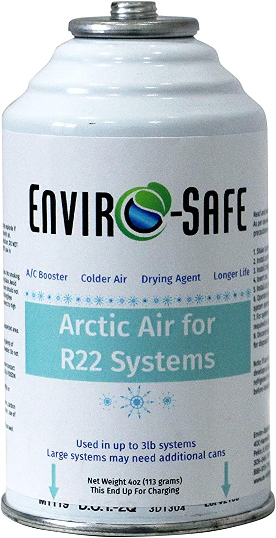 ENVIRO-SAFE Arctic Air for R22 Systems #2090-R22 Can