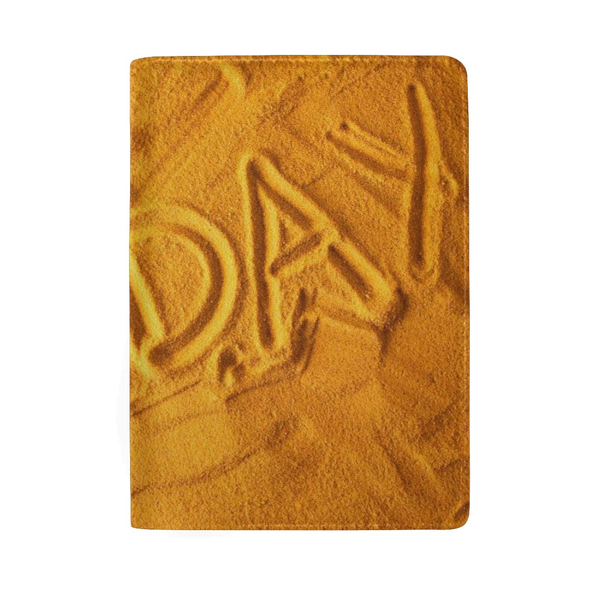 Holiday At The Beach Leather Passport Holder Cover Case Protector for Men Women Travel with Slots