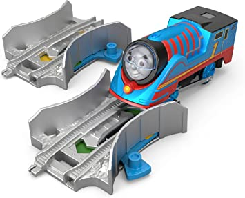 THOMAS THE TANK ENGINE TOMY TRACKMASTER BLUE pistes points x 3