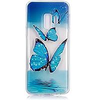 ISAKEN Funda para Samsung Galaxy S9 Plus, Crystal