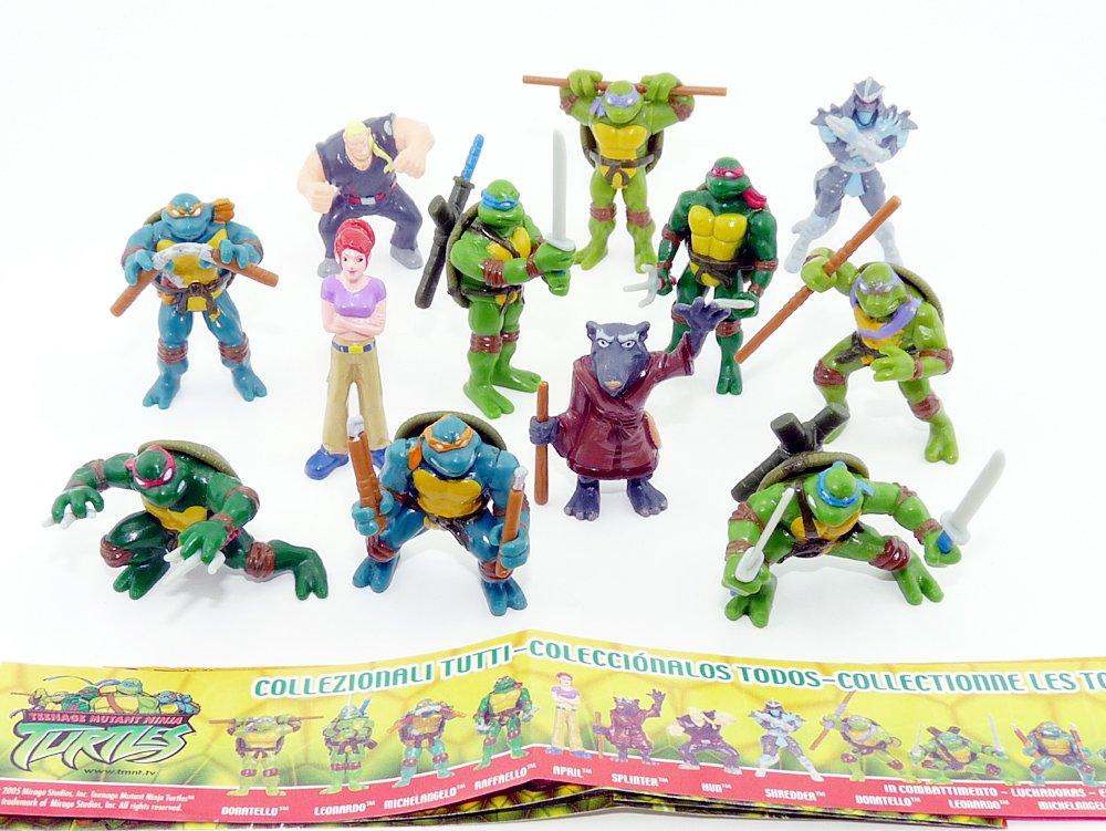Kinder Überraschung Sorpresa para niños, Las Tortugas Ninja ...