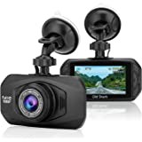 "Dash Cam, OldShark Car Dashboard Camera 3.0"" Car DVR Driving Video Recorder with 170 Degree Wide Angle View, Sony Sensor HD Night Vision 2.7"" LCD Parking Monitor"