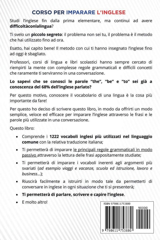 Corso Per Imparare L Inglese Le 1222 Frasi Inglesi Che Devi