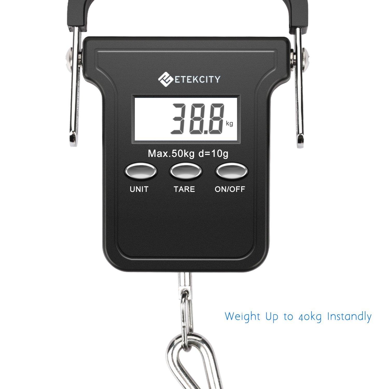 Etekcity 50kg/110lb bilancia a gancio, bilance sospesa, bilancia ...
