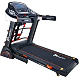 Powermax Fitness TDA-230 (Multifunction Version) 2Hp (4Hp Peak) Motorized Treadmill With Auto-Incline & Lubrication (Warranty: Motor-3 Yrs; Other Parts-1Yr)