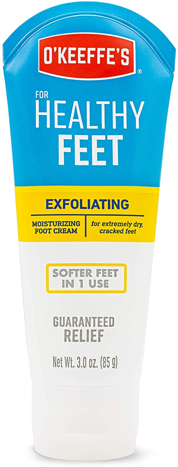 O'Keeffe's K0400008 Healthy Feet Exfoliating Foot Cream, 3 ounce Tube: Home Improvement