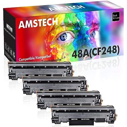 Amstech - Juego de 4 tóner compatibles para impresoras HP Color Laserjet Pro M477fdw M477fnw M477nw M477nw M477nw M477 477 M452 M452nw M452dn M452dw ...