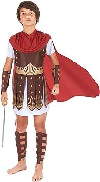 Disfraz de centurión romano para niño: Amazon.es: Juguetes y juegos