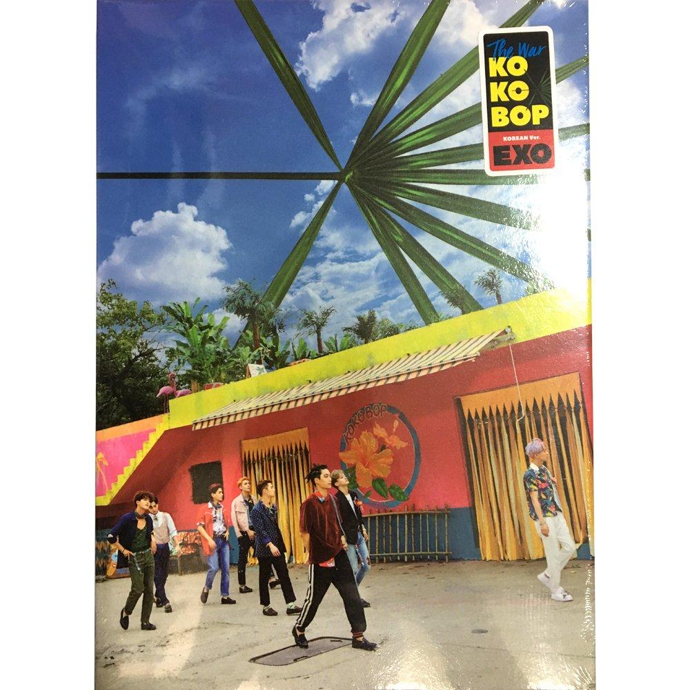 EXO 4th Album The War [Regular A] KOREAN ver. CD + Photobook + Illustration Paper by SM Entertainment