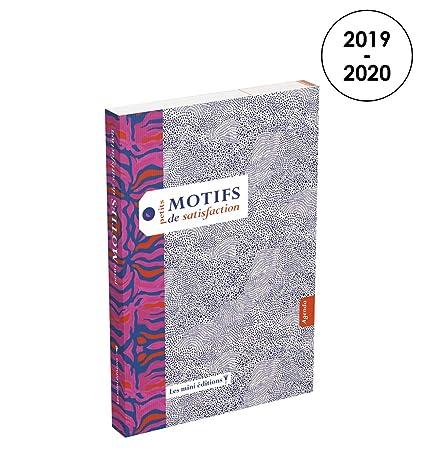 Motivos de satisfacción agenda semanal 2019 - 2020 de ...