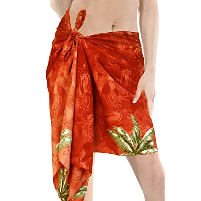 *La Leela* beachwear bikini dissimuler les femmes maillot de bain écharpe enveloppe courte paréo paréo mini court demi