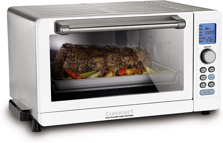Amazon Com Cuisinart Tob 135wn Toaster Oven White Kitchen Dining