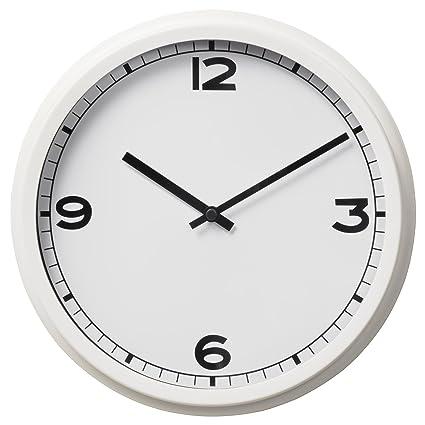 IKEA juego de 2 reloj de pared, blanco 628.172326.346