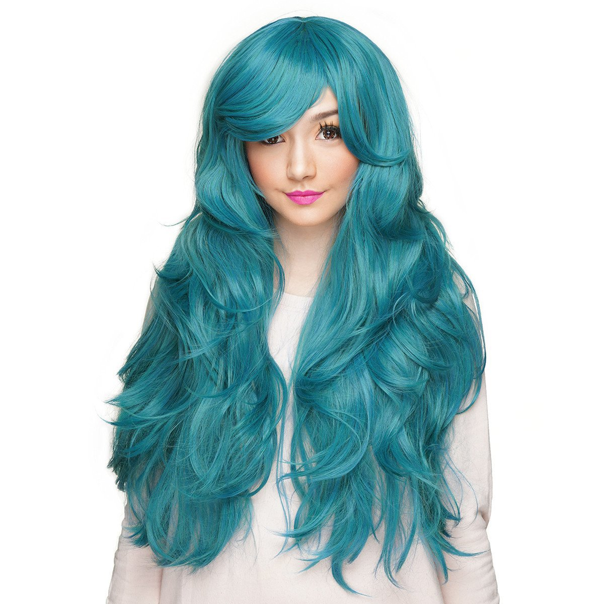 Gothic Lolita Wigs® Rockstar Wigs Hologram 32 - Turquoise Mix - 00631