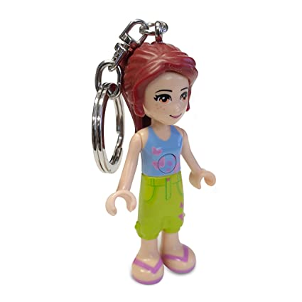 Amazon.com: Santoki Lego Friends Mia Llavero Luz, 2.75-inch ...