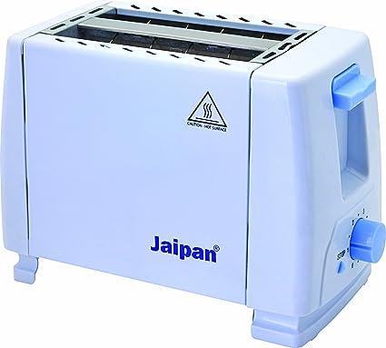 Jaipan JPT-001 750 Watt 2-Slice Pop-Up Toaster (White)