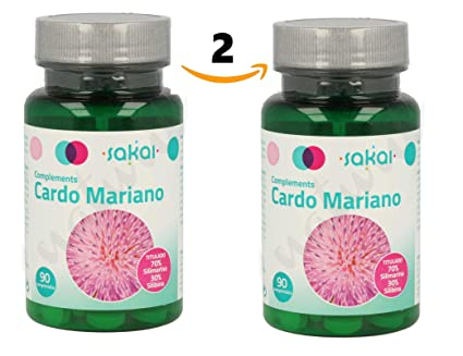 SAKAICardo Mariano 180 comprimido (dos botes 90+90) sin aditivos, extracto seco