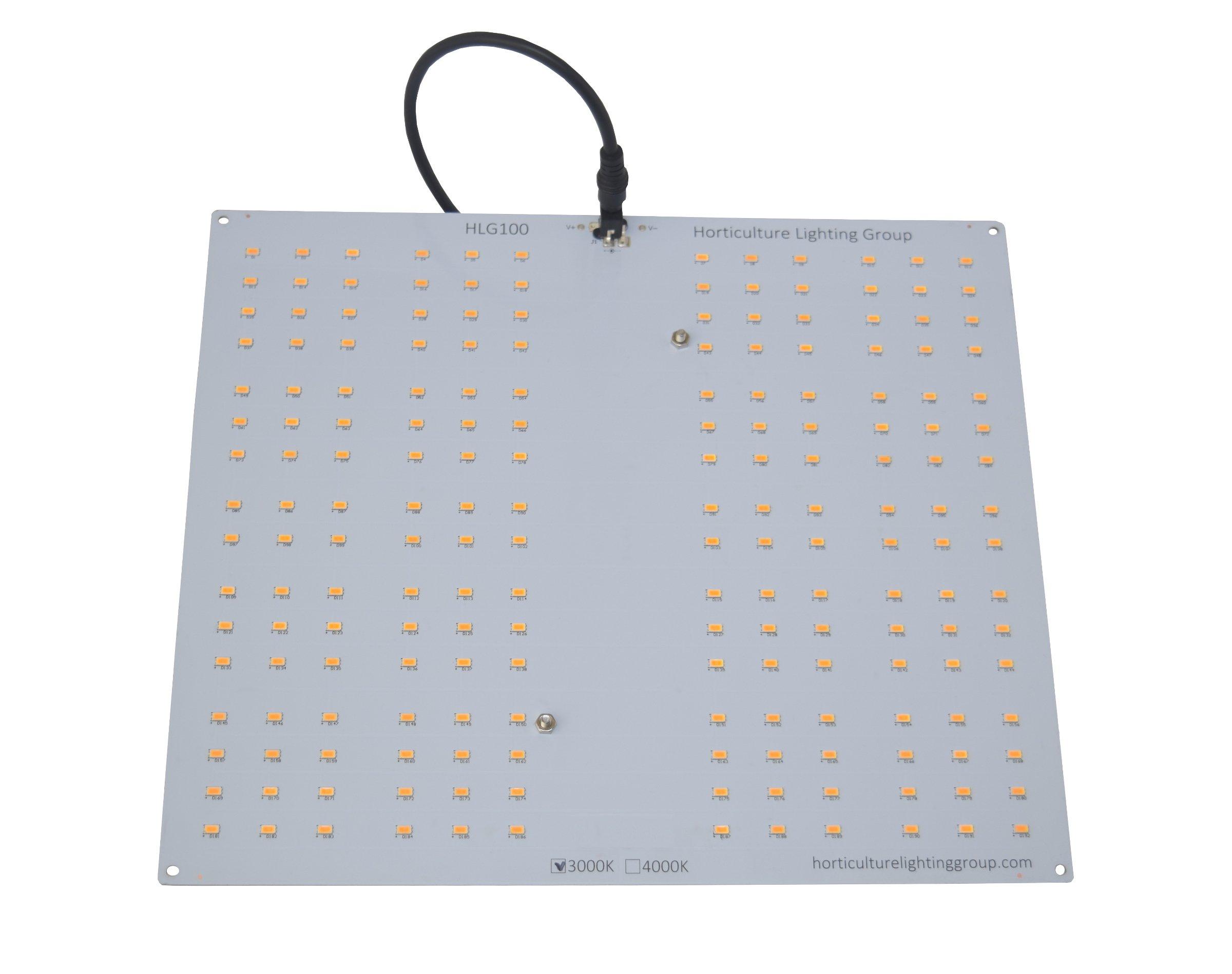 Horticulture Lighting Group USA HLG 100 Quantum Board LED Grow Lamp Veg & Bloom 4000K