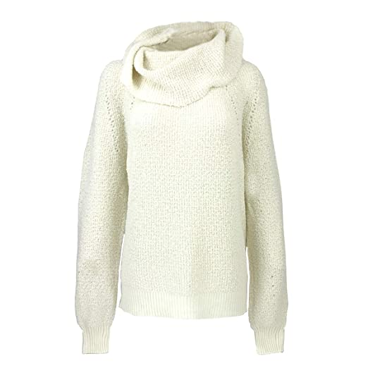 Free People Womens By Your Side Sweater Ivory Large At Amazon