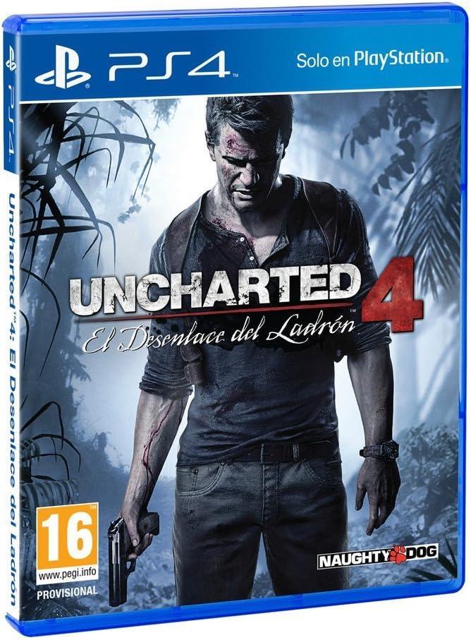 Uncharted 4: El Desenlace del Ladrón: Amazon.es: Videojuegos