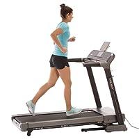 Laufband MAXXUS WalkMaxx 6.1 Klappbar - Kompakte Treadmill Mit Klappbarer Lauffläche Und Bluetooth Steuerung - 18km/h, Starker 2 PS DC-Motor - Großzügige Lauffläche Für Sicheres Trainingsgefühl