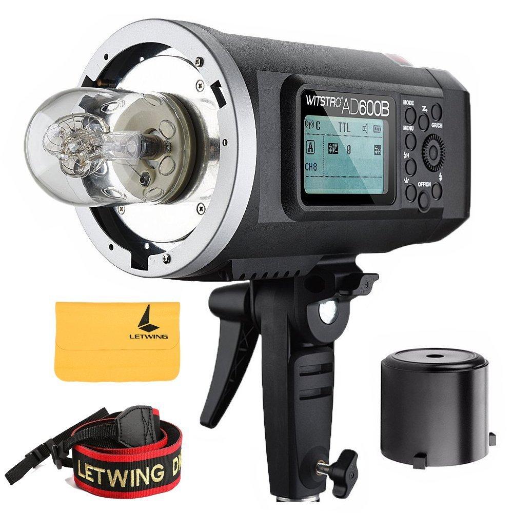 Godox AD600B TTL Bowen Mount GN87 600W HSS 1 / 8000s 2.4G Wireless 8700mAh Lithium Battery Outdoor Studio Strobe Flash,Godox X1T-C Flash Trigger for Canon EOS DSLR Camera by Godox (Image #2)