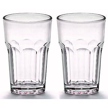 4fc411f95832b8 Viva Haushaltswaren - 2 x bruchfestes Latte Macchiato Glas 300 ml ...