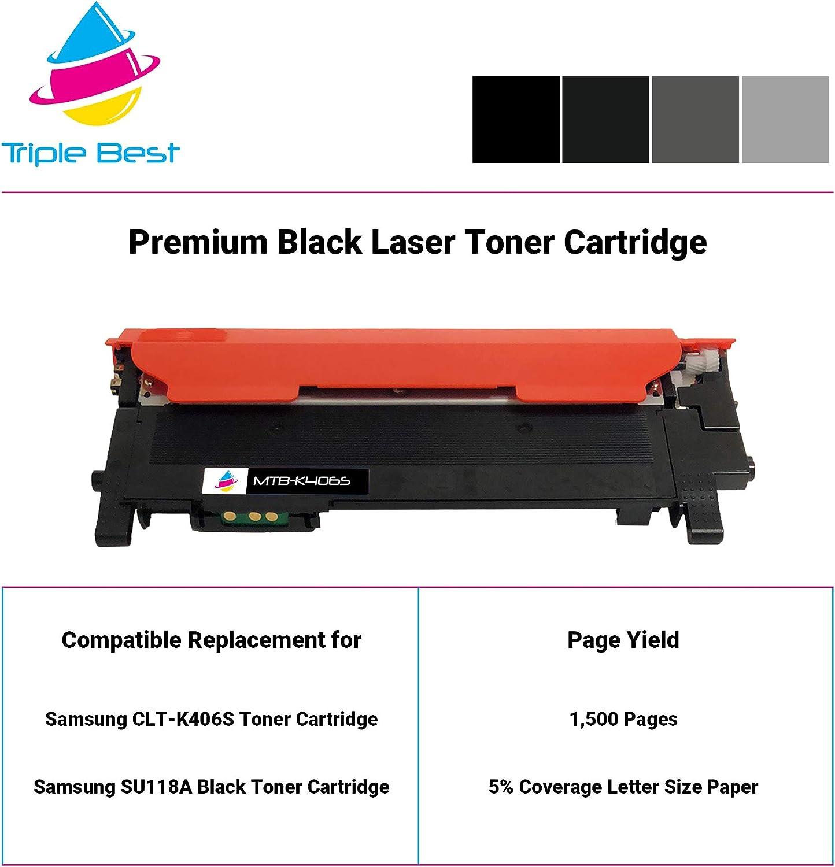 CNY Toner 4 Packs Compatible Samsung CLP-670Y Toner