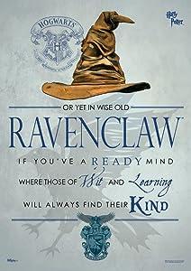 MightyPrint Harry Potter (Sorting Hat Ravenclaw) Wall Art Next Generation Premium Print
