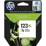HP 123XL Tri-color (Cyan, Magenta, Yellow) Original Ink Advantage Cartridge - F6V18AE
