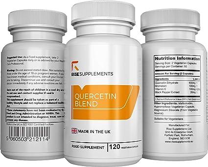 Mezcla de Quercetina - Querticina, Bromelina, Vitamina C y ...