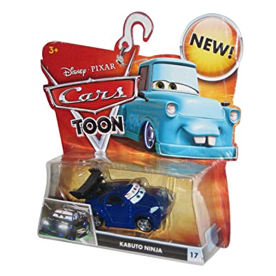 Disney / Pixar CARS TOON 155 Die Cast Car Kabuto Ninja: Toys & Games