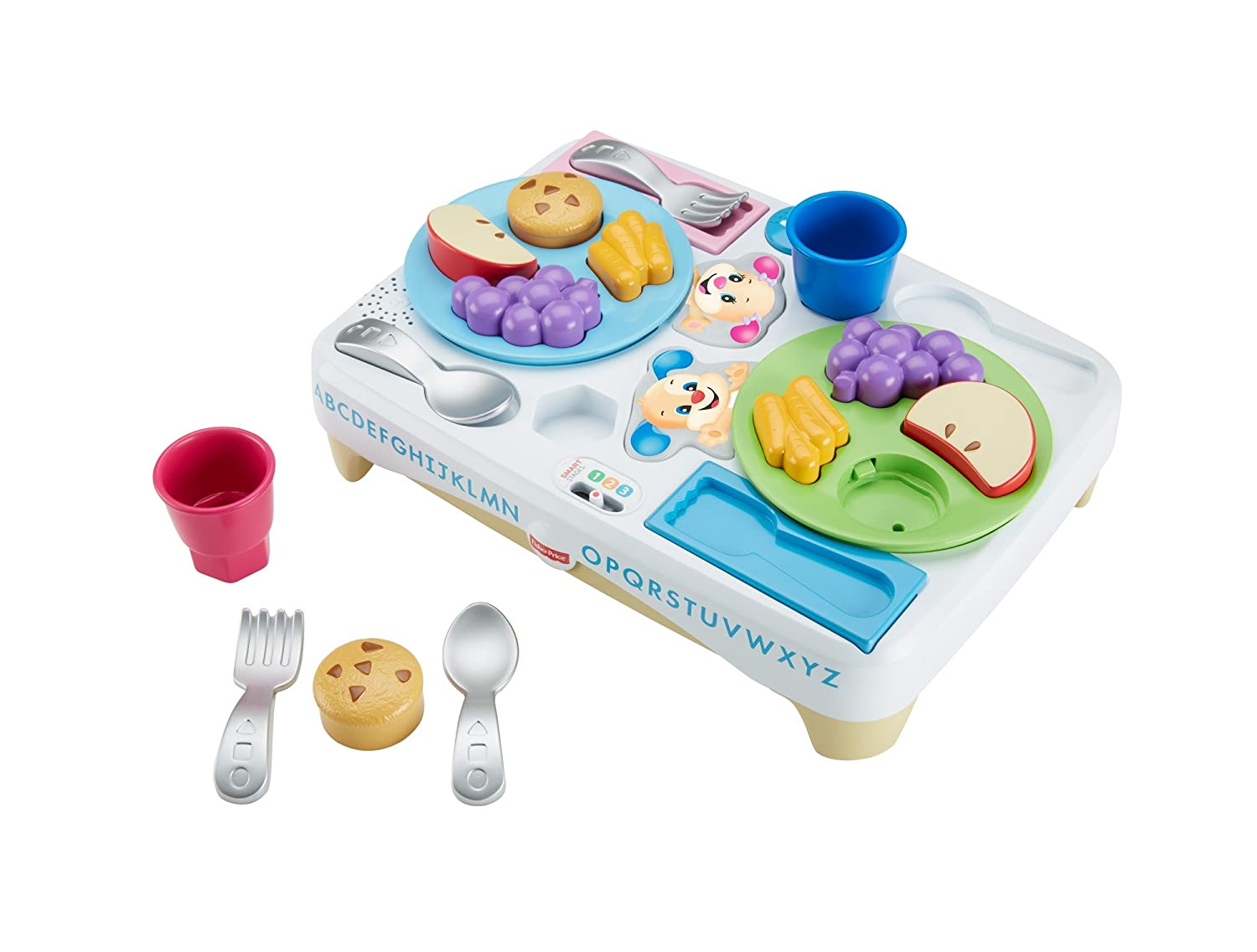 Amazon.com: Fisher-Price Laugh & Learn Say Please Snack Set: Toys ...