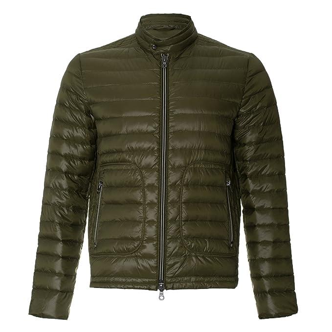 IQ+berlin - Chaqueta - chaqueta guateada - para hombre verde verde: Amazon.es: Ropa y accesorios