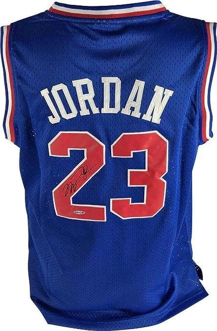buy popular e1199 3ce8c Michael Jordan Signed Jersey - 1993 All Star COA - Upper ...