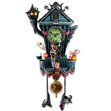 Amazon.com: Cuckoo Clock: Tim Burton's The Nightmare Before ...