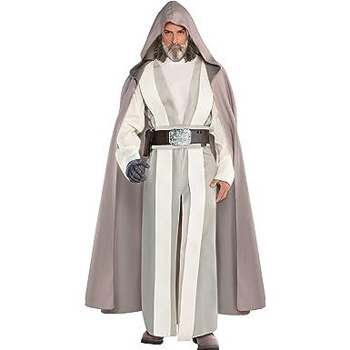 Amazon.com: Costumes USA Star Wars 8: The Last Jedi Luke ...