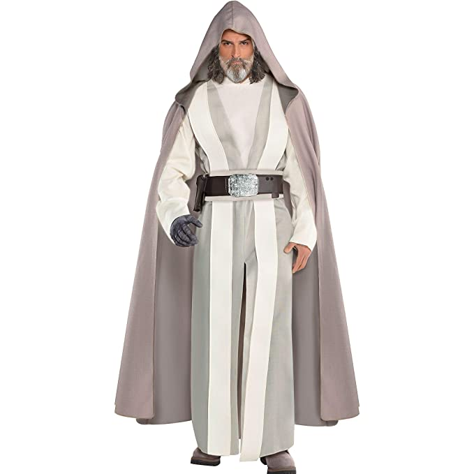 Amazon.com: Costumes USA Star Wars 8: The Last Jedi Luke ...