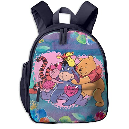 c85b8139bb4 Image Unavailable. Image not available for. Color  CCVVG1 Winnie The Pooh  Print School Bag ...