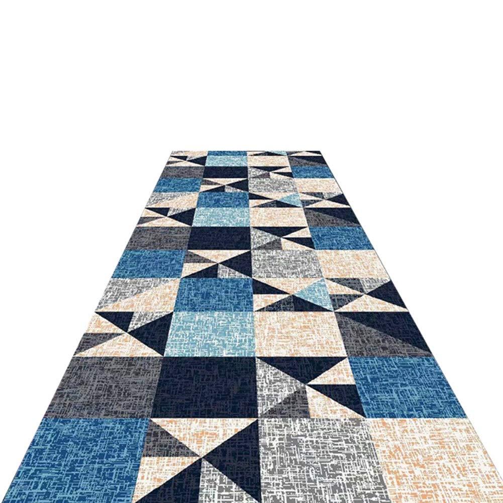 廊下敷きマット 廊下用ランナーラグ、滑り止め区域敷物、清掃が容易なエクストラロングカーペット、2スタイル、7 Mm厚 (色 : Geometric patterns, サイズ さいず : 120x200cm) 120x200cm Geometric patterns B07PXL2K7W