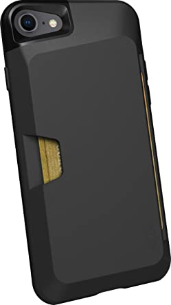 pretty nice 0cd16 54dd4 Silk iPhone 7/8 Wallet Case - VAULT Protective Credit Card Grip Cover -  Wallet Slayer Vol.1 - Black Onyx