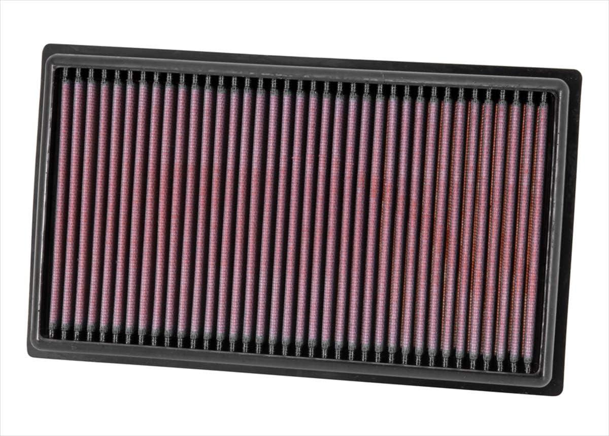 Lavabile e Riutilizzabile K/&N 33-2999 Ricambio Filtro dellAria Auto
