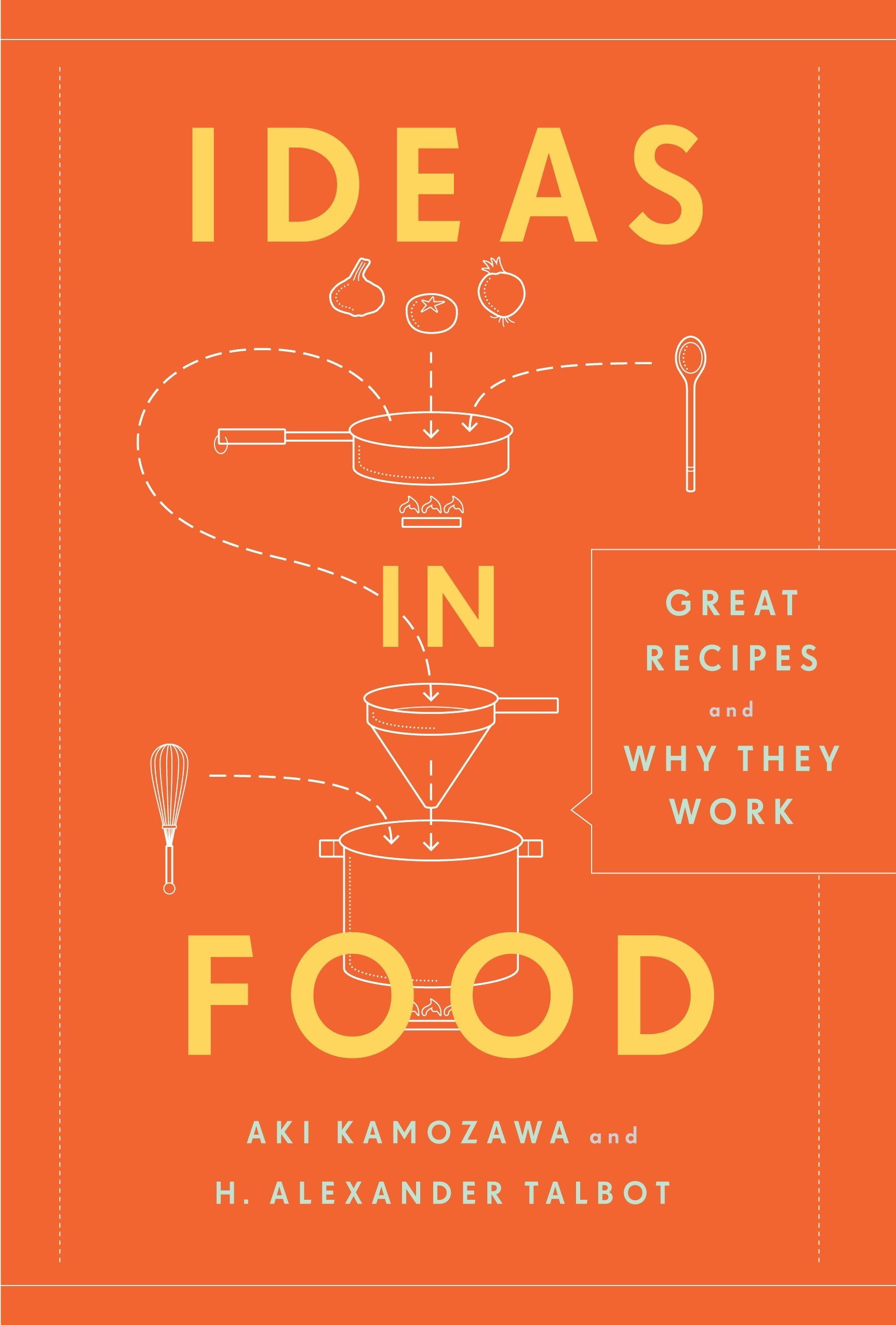 Read Online Ideas in Food: Great Recipes and Why They Work PDF
