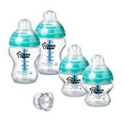 Tommee Tippee Advanced Anti Colic Newborn Essentials Baby Bottle Feeding Set