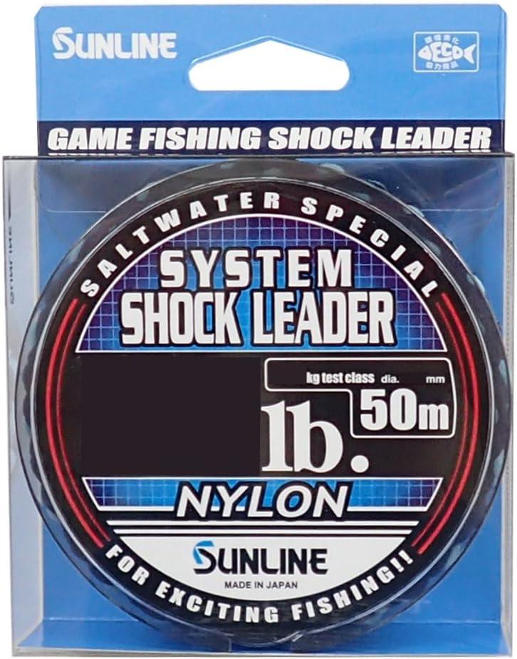 SUNLINE Saltwater Special SYSTEM SHOCK LEADER NYLON 50m