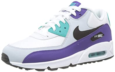 d6d546d1a0 Amazon.com | Nike Men's Air Max 90 Essential White/Black/Hyper Jade ...