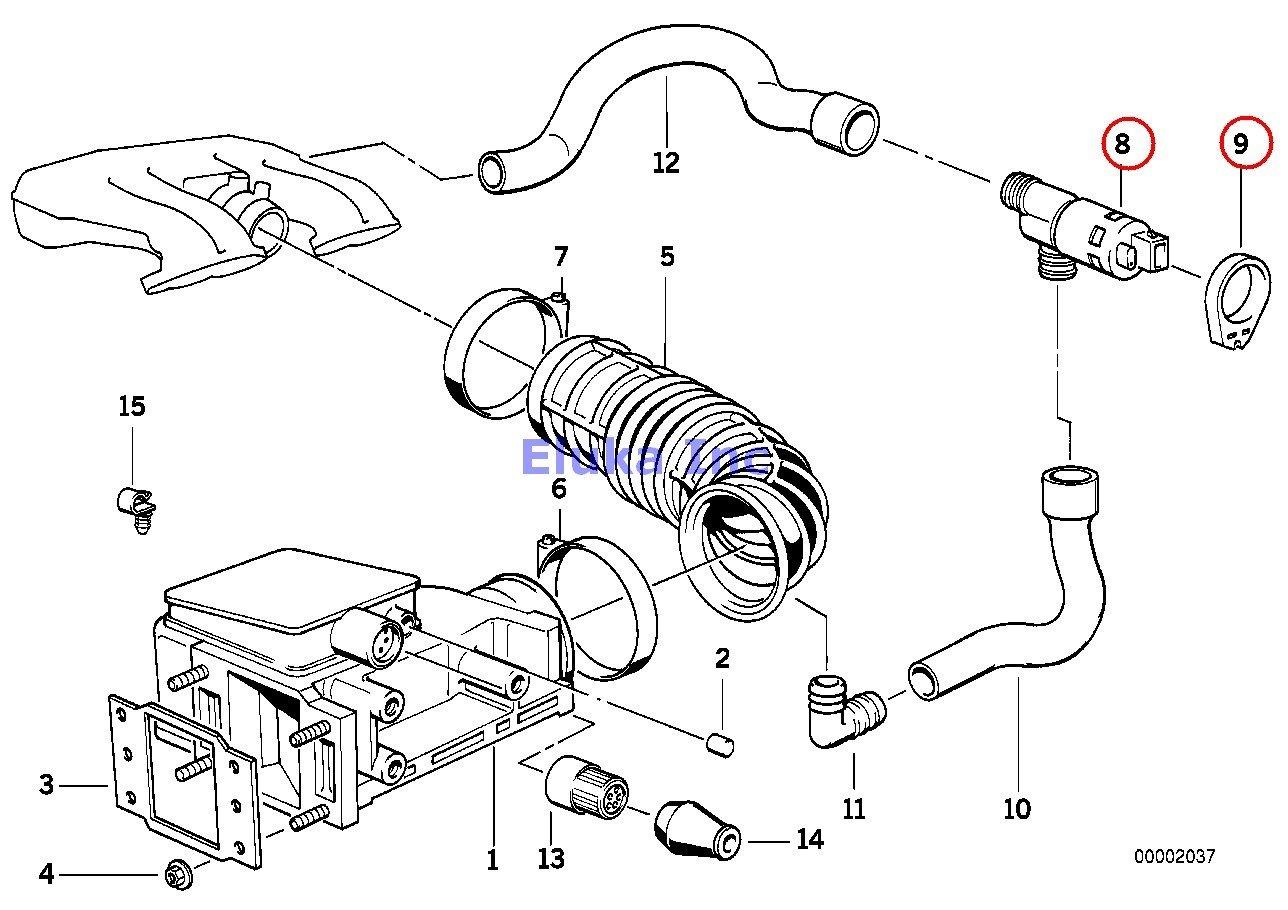 amazon bmw genuine fuel system volume air flow sensor rubber BMW 318I Engine Diagram amazon bmw genuine fuel system volume air flow sensor rubber grommet 318i 318is 318i 318is automotive