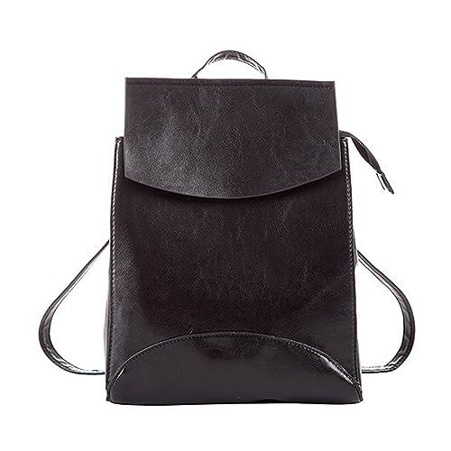 4ddf62df9f47 Amazon.com  Nerefy Fashion Women Backpacks Quality Pu Leather School  Backpacks For Teenage Girls Shoulder Bag Daypack  Shoes