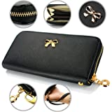 GEARONIC TM Women Wallet Long Clutch Leather Card Holder Fashion Purse Lady Handbag Bag