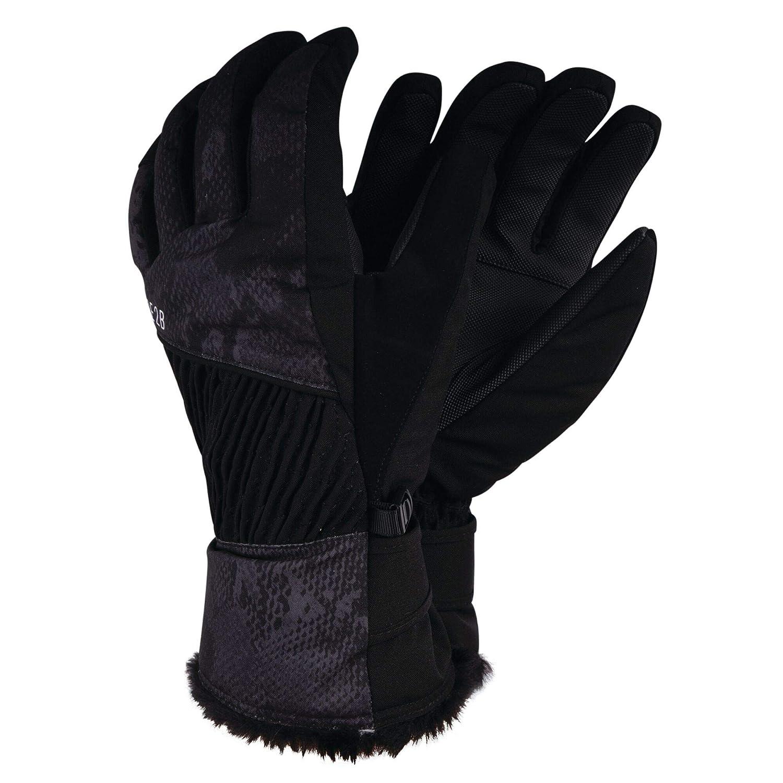 Respirants et Isolants avec Doublure Chaude et Poignets Ajustables Bord/és de Fausse Fourrure Gloves Dare 2b Gants de Ski Femme Daring Ultra Imperm/éables